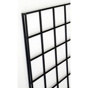 Gridwall panel 2'w x 6'h-black