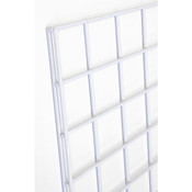 Gridwall panel 2'w x 4'h-white