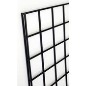 Gridwall panel 4'w x 6'h black