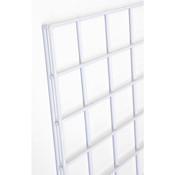 Gridwall panel 4'w x 8'h- white