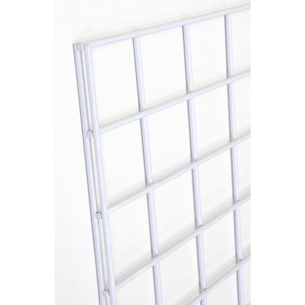 Gridwall panel 4'w x 8'h- white