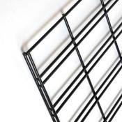 Slatgrid panel 2'x4'-black