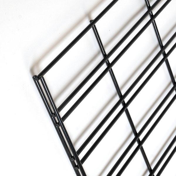 Slatgrid panel 2'x8' -black