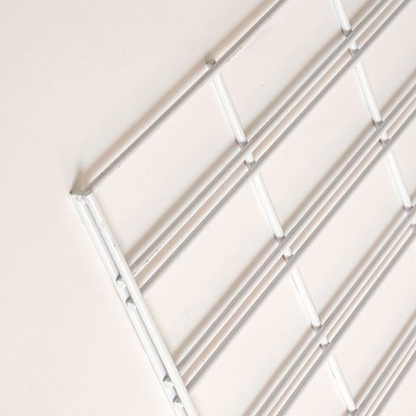 Slatgrid panel 2'x8'-white