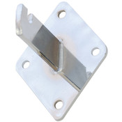 Grid wall mount bracket-chrome