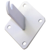 Grid wall mount bracket-white