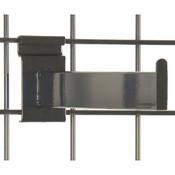 "Gridwall faceout–12"" rectangular tube– black"