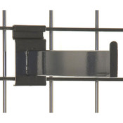 "Gridwall faceout–12"" rectangular tube– black"