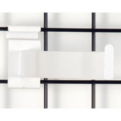 """Gridwall faceout–12"""" rectangular tube– white"""