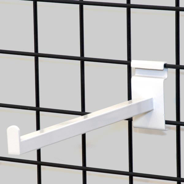 "Gridwall faceout 12""– white"