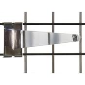 """Gridwall 14"""" shelf bracket-chrome"""