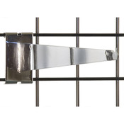 "Gridwall 14"" shelf bracket-chrome"