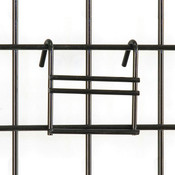 Slatwall-to-grid adapter - black