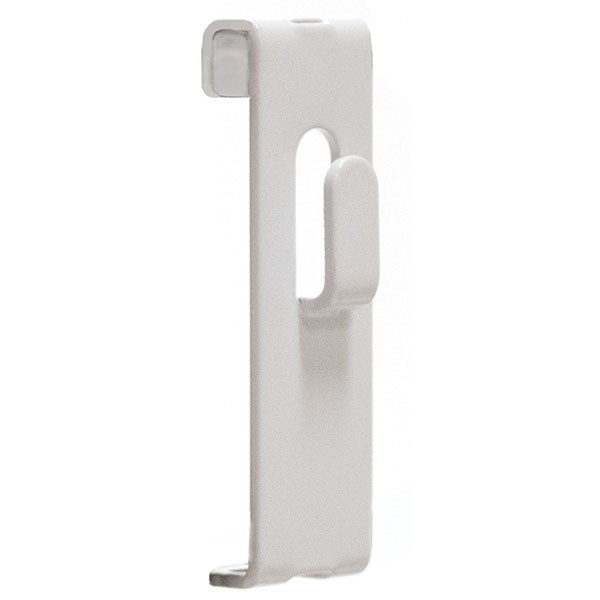 Gridwall picture hook -white