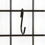 S-hook grid-black