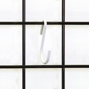 S-hook grid-white