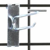 """Gridwall scanner hook 4"""" - zinc"""