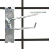 """Gridwall scanner hook 6"""" - zinc"""