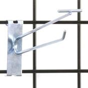"""Gridwall scanner hook 8"""" - zinc"""