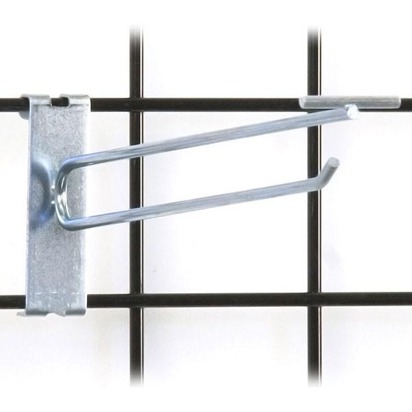 """Gridwall scanner hook 10"""" - zinc"""