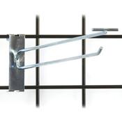 """Gridwall scanner hook 12"""" - zinc"""