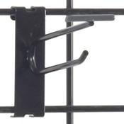 """Gridwall scanner hook 4"""" - black"""