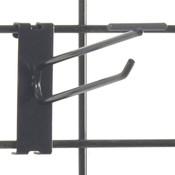 """Gridwall scanner hook 6"""" - black"""
