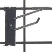"Gridwall scanner hook 6"" - black"