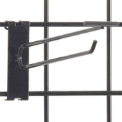 "Gridwall scanner hook 8"" - black"