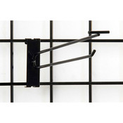 """Gridwall scanner hook 10"""" - black"""