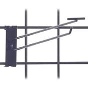 """Gridwall scanner hook 12"""" - black"""