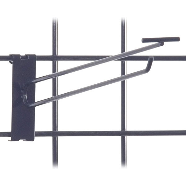 "Gridwall scanner hook 12"" - black"