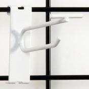 "Gridwall scanner hook 4"" - white"