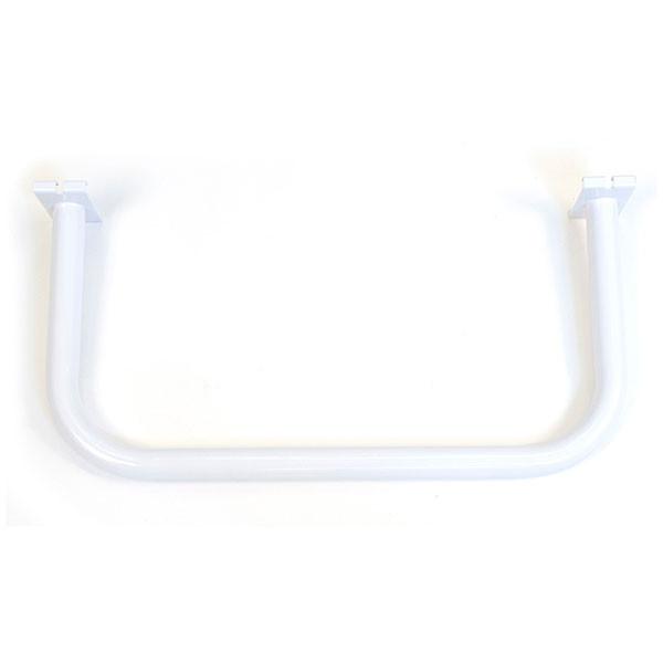 Grid U-shaped hangrail bracket-white