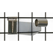 "Grid hangrail bracket 1-1/4"" diameter-chrome"