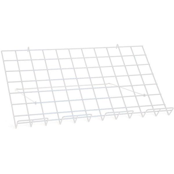 "Adjustable grid shelf 24""w x 14""d-white"