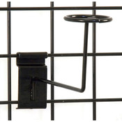 Grid millinery rack-black