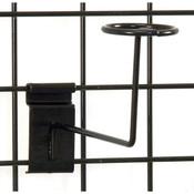 Grid millinery rack-black