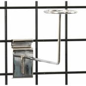 Grid millinery rack-chrome