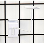 Grid millinery rack-white