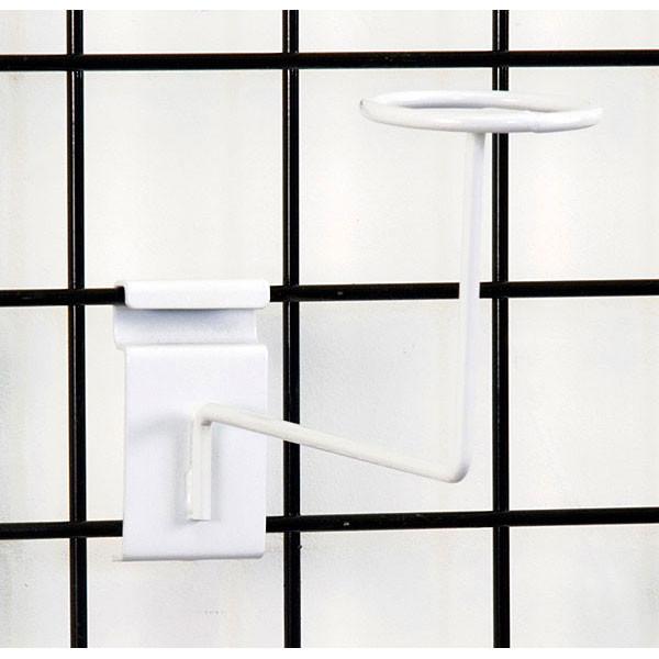 Grid millinery rack-white