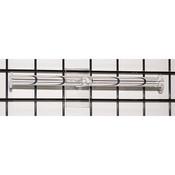 """Grid jewelry T-bar 15.5""""w - clear"""