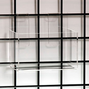 Acrylic grid hosiery single pocket