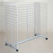 "Grid gondola unit 48""l x 24""w x 48""h - white"