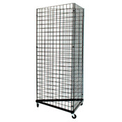 Grid triangle unit 3' sides - black