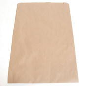 "Brown kraft paper bag 14""x3""x21""- 500/case"