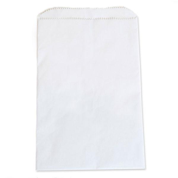 "White kraft paper bag 6""x9""- 1m/case"