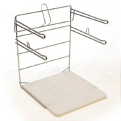 Bag stand for t shirt bags