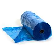 """Plastic garment bag 72""""l x 21""""w - blue 160/roll"""