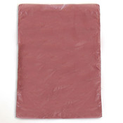 "Plastic bag high density 6.5""x9.5"" .6 mil - burgundy 1m/box"